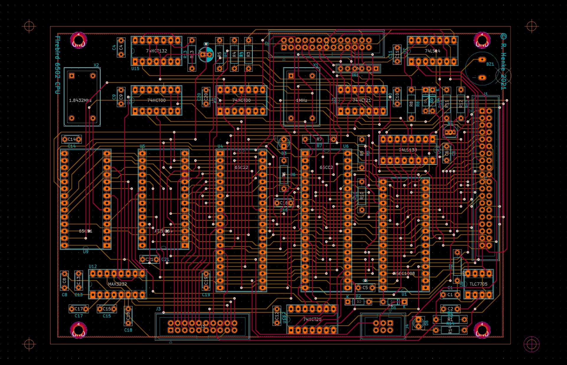 Firebird CPU board